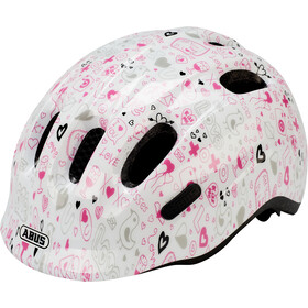 ABUS Smiley 2.1 Casco Niños, white crush